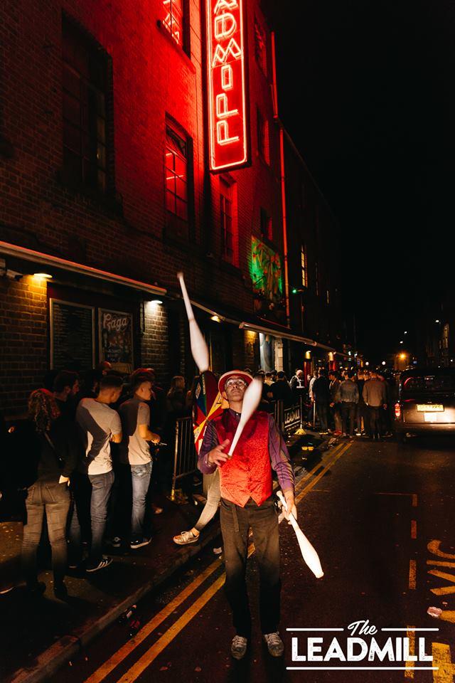juggler leadmill sheffield nightclub entertainment