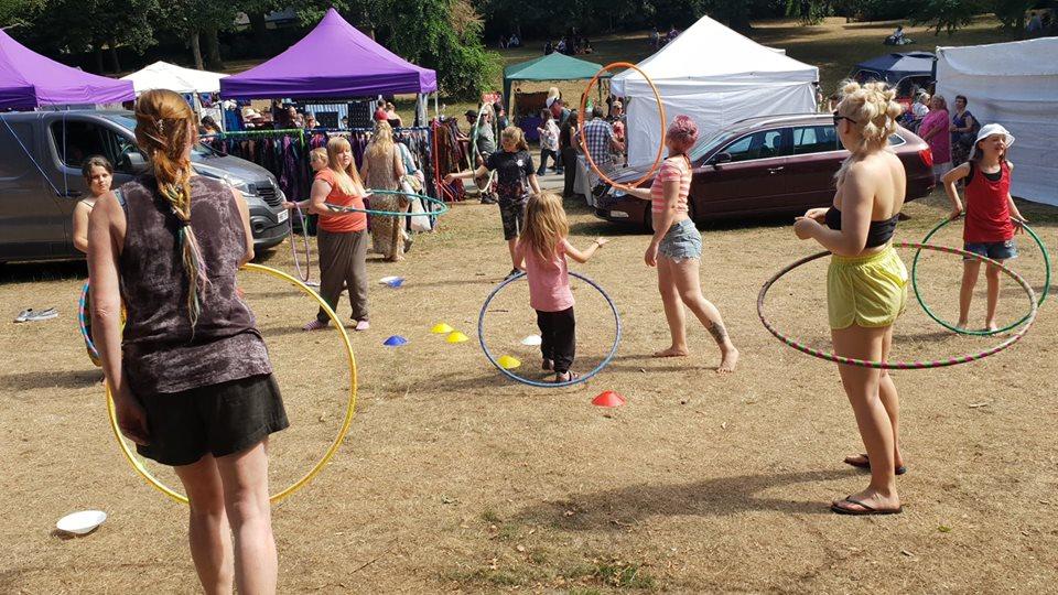 Carla hoop workshop circus skills workshop