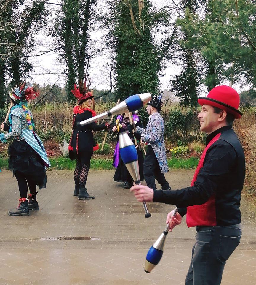 creswellcrags juggling circus entertainment Nottingham Rudi 1
